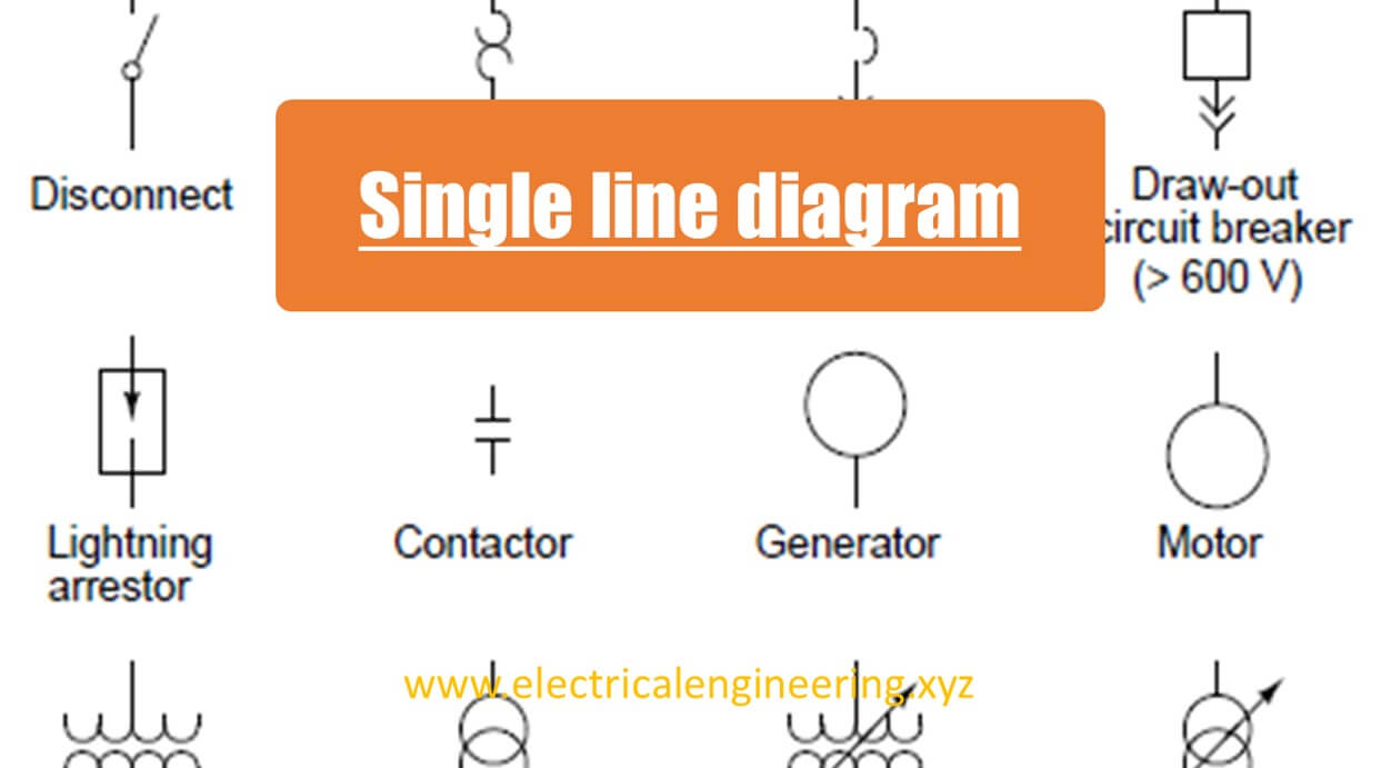 single line diagram xyz  basics of electrical power engineering GFCI Circuit Breaker Wiring Electrical Circuit Breaker Panel Diagram