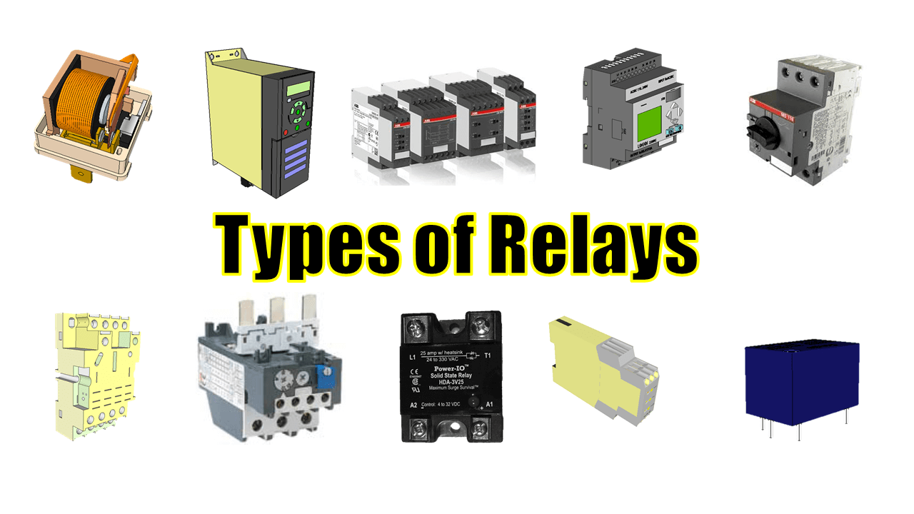 Power System Protection: 20 Different Types of Relays