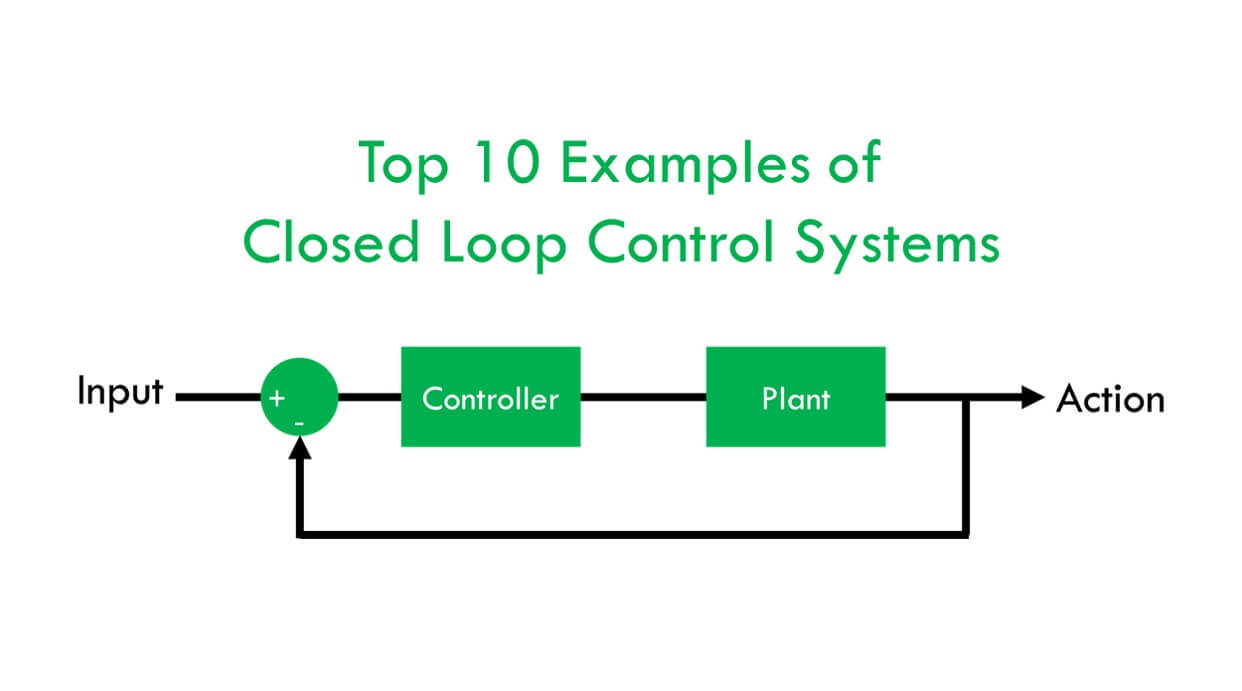 Top 10 Examples of Closed Loop Control Systems [Practical Applications]Electrical Engineering XYZ
